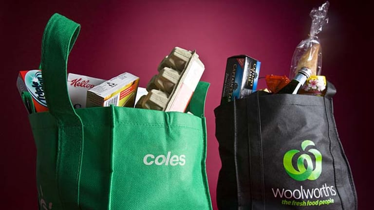 Redefining the concept of 'fresh': Coles and Woolworths.