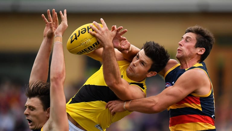 Trent Cotchin has been in superb form for Richmond as the Tigers rise in 2017.