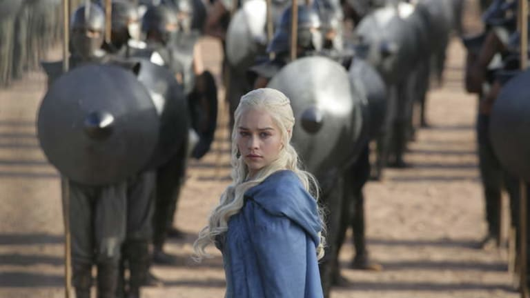 Emilia Clarke in <i>Game of Thrones</i>.