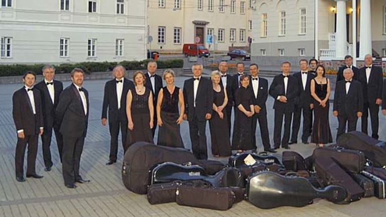 The Lithuanian Chamber Orchestra.