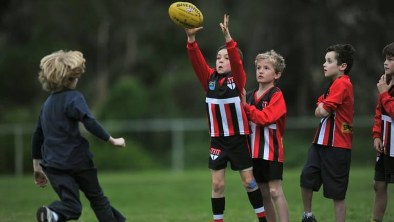 Young players at St Kilda City do not.