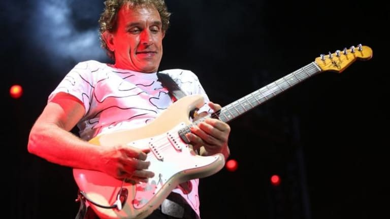 Sublime ... Ian Moss - one of Australia's greatest rock guitarists - keeps delivering soaring solos and ripping licks.