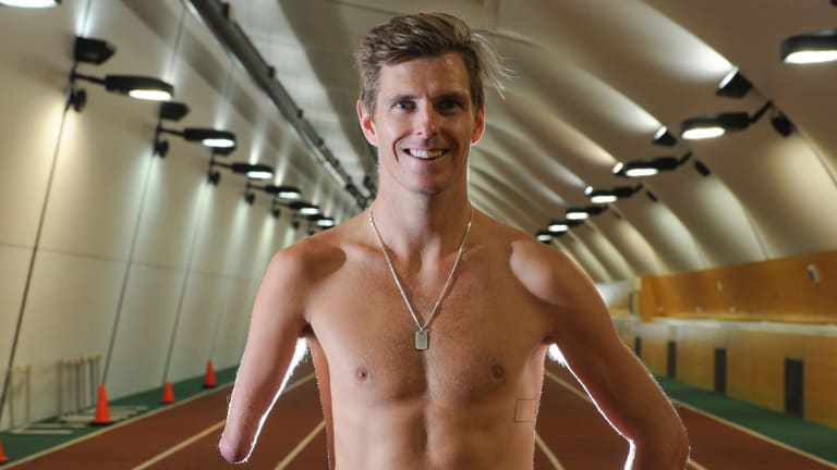 Paralympic runner, Michael Roeger, is favourite to win the 1500 metre event at the 2016 Paralympic Games in Rio De Janeiro.