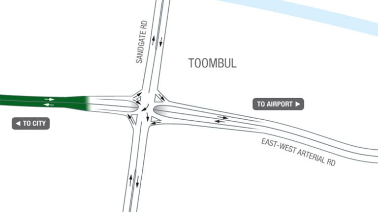 The Toombul entrance. <B><A href= http://images.brisbanetimes.com.au/file/2012/07/24/3482025/toombul.jpg?rand=1343110247292> Full map here.</a></b>
