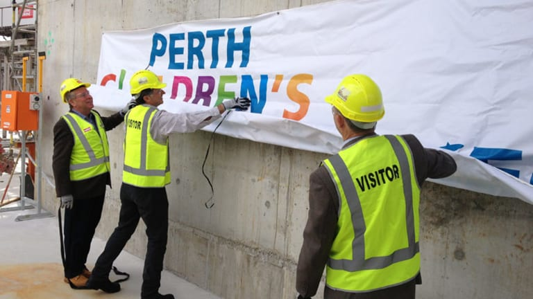 Perth's new children's hospital will be called... Perth Children's Hospital.