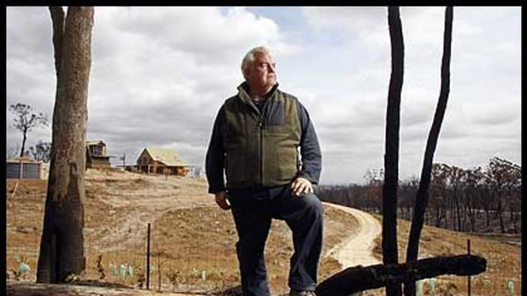 After suffering court action that cost the family $100,000, Liam Sheahan believes clearing trees saved his home and his family.
