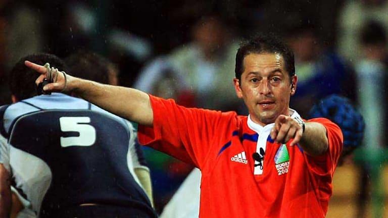 World Cup referee Jonathan Kaplan.