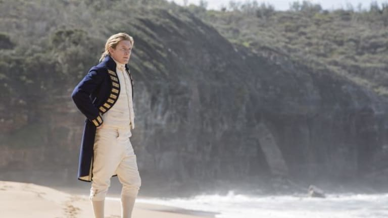 David Wenham in <i>Banished</i>.