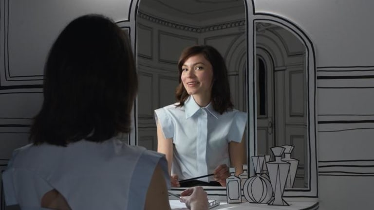 Cobham-Hervey landed a starring role in Myer's recent 'Find Wonderful' advertising campaign.