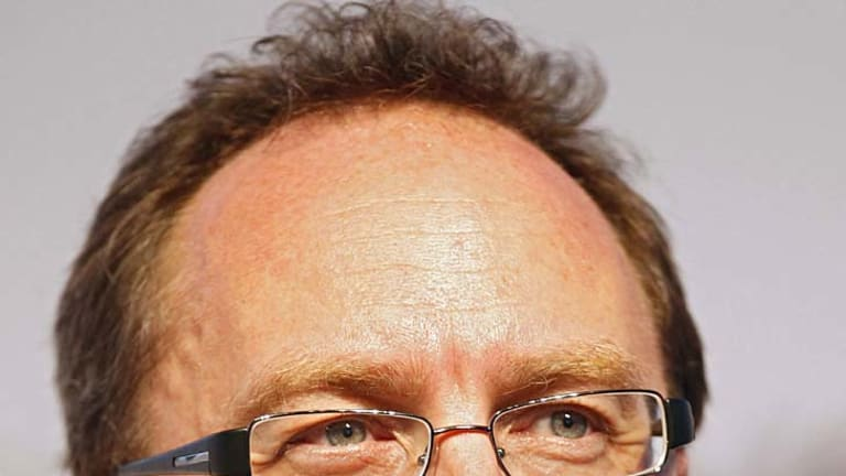 Remarkably anonymous ... Wikipedia founder Jimmy Wales.
