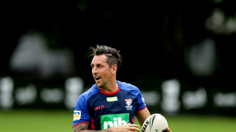 Instant impact: Newcastle Knights recruit Mitchell Pearce.
