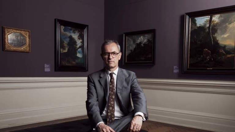 Finding savings ... AGNSW director Michael Brand.
