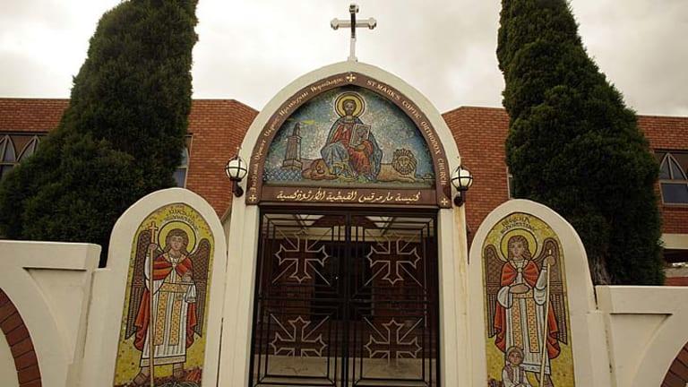 St. Mark's Coptic Church in Preston.