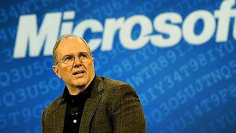 Microsoft chief research and strategy officer Craig Mundie.