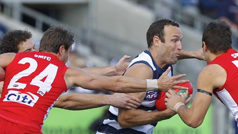 Brad Ottens has been an exceptional finals performer for the Cats.