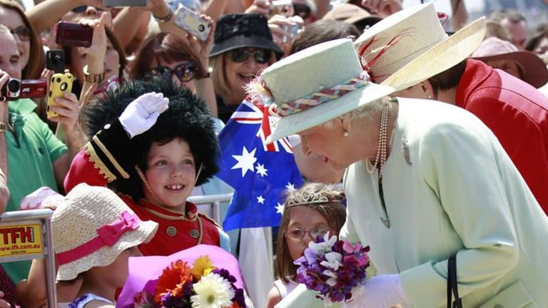 The Queen in Brisbane: Sunshine State gets an extra holiday in 2012 to celebrate the British monarch's Golden Jubilee year.