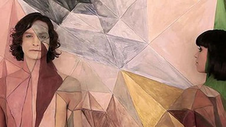 Top of the world ... Gotye and Kimbra in the <i>Somebody That I Used to Know</i> video clip that has racked up 166 million views on YouTube.