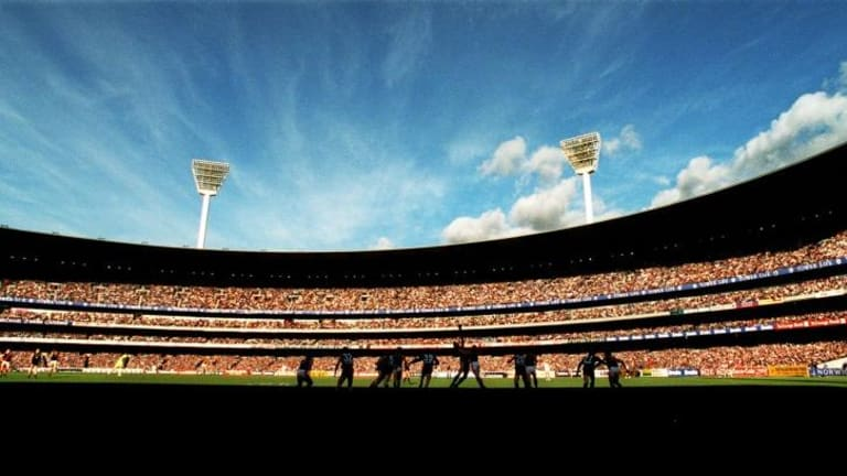 Fond memories: The MCG Southern Stand was designed by Arthur Purnell in 1937 and has since been demolished.
