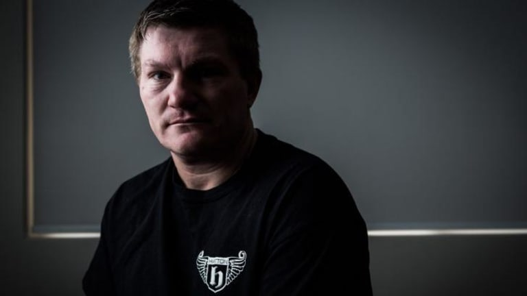 """Ricky Hatton says a boxer must train hard and bond with fans. """"I'm always humble,"""" he says. """"No airs 'n' graces."""""""