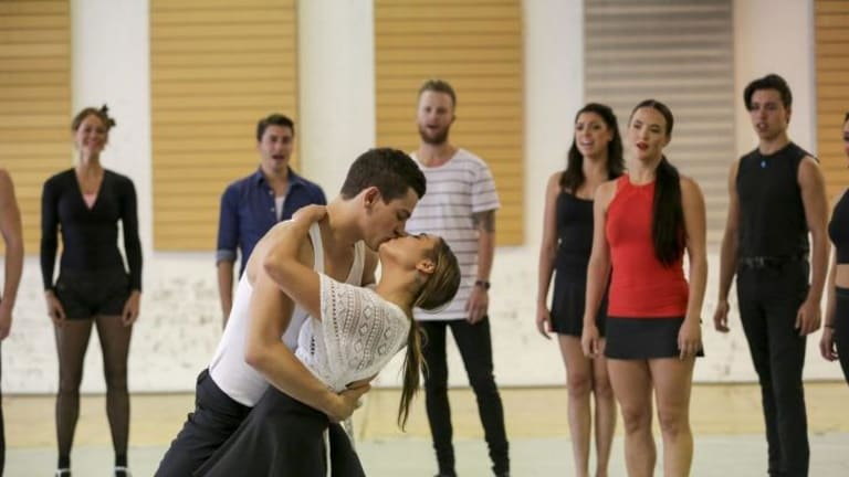 Pivotal moment rehearsed for <i>Strictly Ballroom the Musical</i>