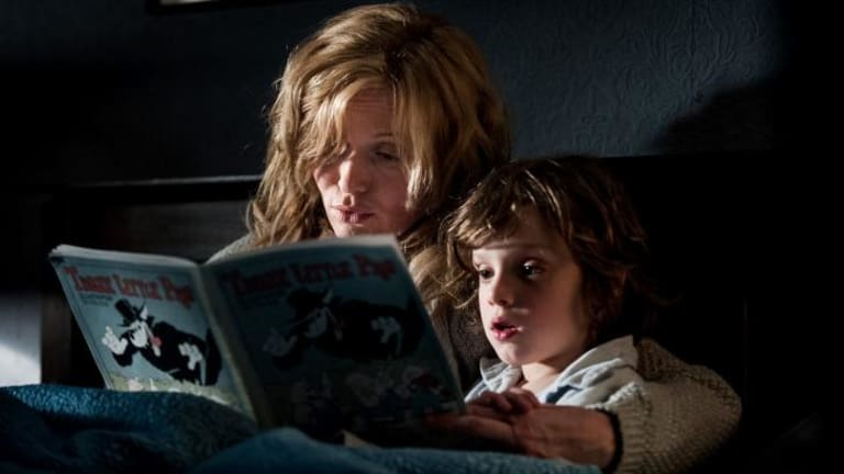 <i>The Babadook</i>, starring Essie Davis as a widowed mum bringing up son Sam (Noah Wiseman), has shared top prize at the AACTA Awards.