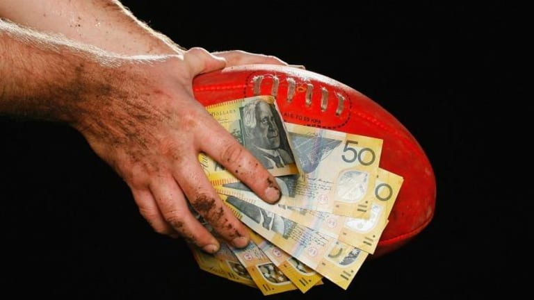 Chris Appleton was banned in 2010 after placing four bets totalling $60 on the 2009 Geelong-St Kilda grand final.