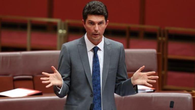 Urged senators to reconsider their vote: Greens Senator Scott Ludlam.