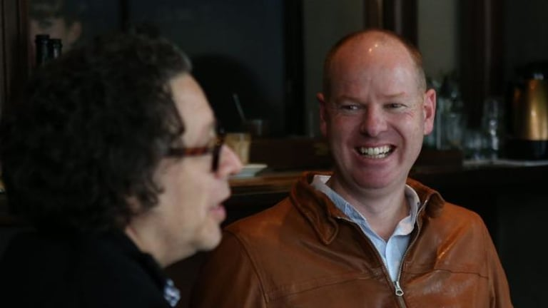 Comedian Tom Gleeson sits down for a meal and chat with journalist Paul Kalina.