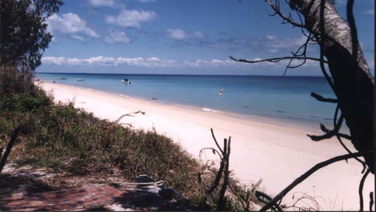Moreton Bay, seen from Moreton Island.