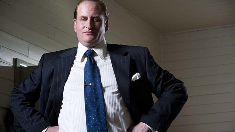 Dominating force ... Lachy Hulme as Kerry Packer.