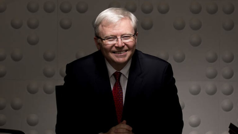 Best reflects our values: Prime Minister Kevin Rudd.