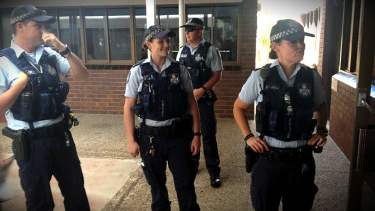 Police keeping a close eye on Dami Im's visit John Paul College.