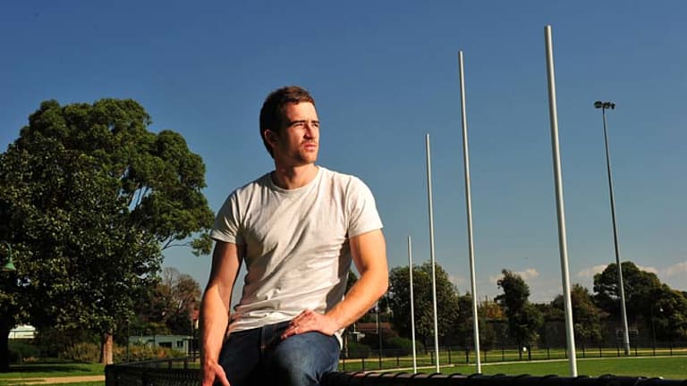 Former AFL Footballer for Melbourne Daniel Bell who is now suffering brain injury after suffering concussion on the field.