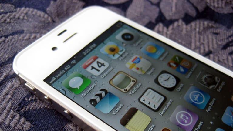 Apple's iPhone 4S.