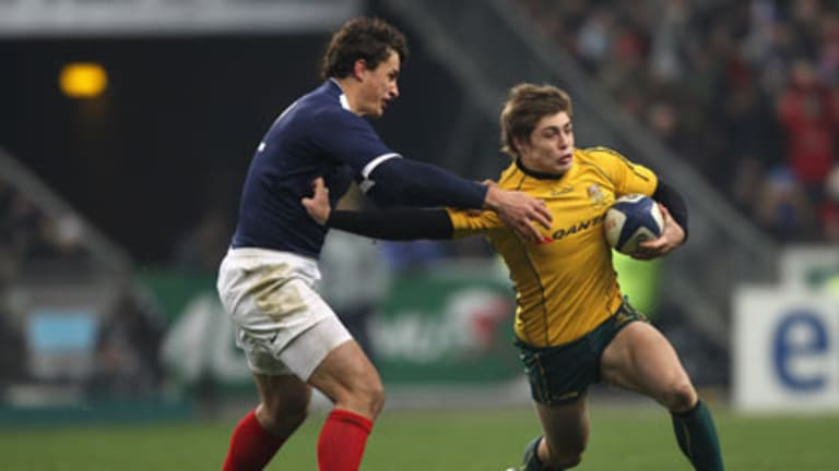 Worthy of merit ... Young Wallaby James O'Connor.