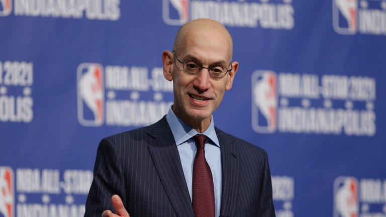"""""""The issue is that the resources involved in bringing teams across the world are so great"""": Adam Silver."""
