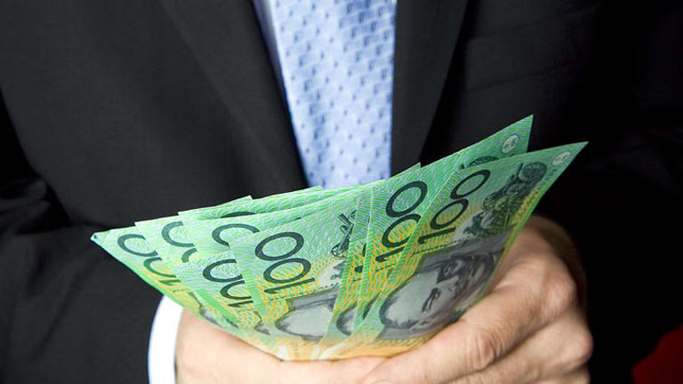 Giving away cash proved harder than expected in the Queen Street Mall.