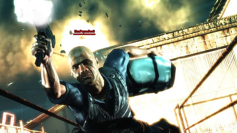 A screengrab from Max Payne 3.