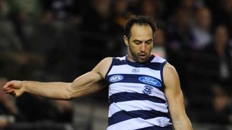 Geelong's late bloomer: James Podsiadly.