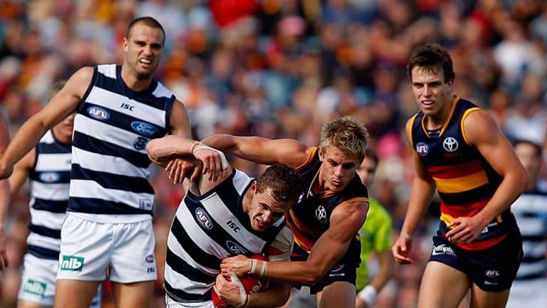Geelong lost to Adelaide last Saturday.