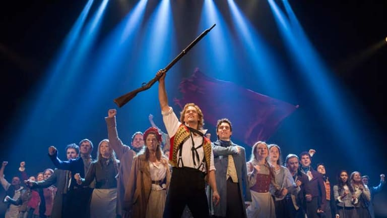 Sir Cameron Mackintosh's revival of <i>Les Miserables</i> has 12 nominations.