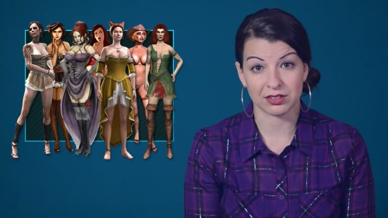 Anita Sarkeesian produces the popular critical video series 'Tropes vs women in games'.