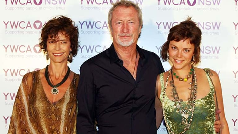 Rachel Ward And Bryan Brown With Their Daughter Matilda