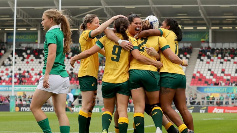 Breaking ground: The Wallaroos will be paid for Tests for the first time.
