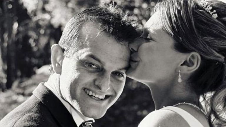 Paul and Danica Weeks on their wedding day in 2007.