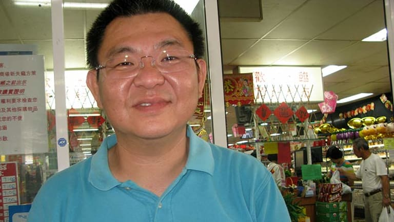 """Jung-Mao Chen said Fortitude Valley's Chinatown was """"old China"""" and was not interesting to Asian people."""