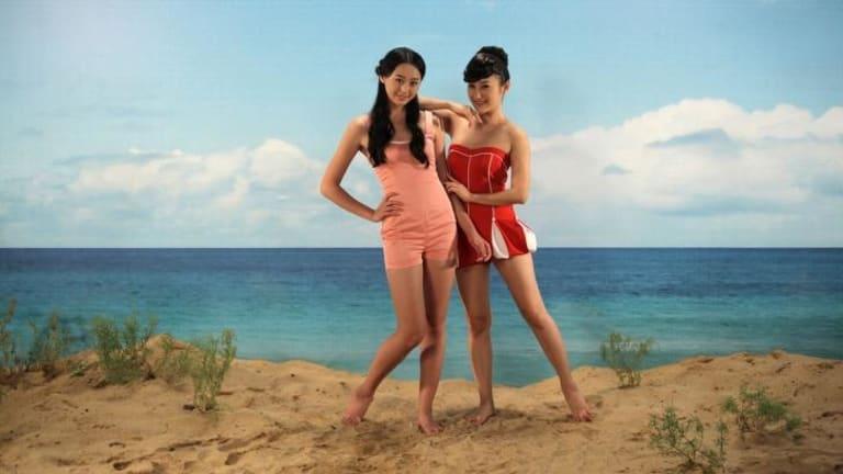 Yang Fudong: <i>The Coloured Sky - New Women II</i>, 2014.