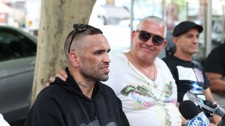 Anthony Mundine and Mick Gatto.