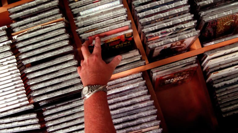 Going the way of vinyl? The CD market in Australia has contracted 45.8 per cent since 2000.