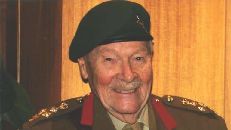 Decorated career soldier: Brigadier William ''Mac'' Grant.